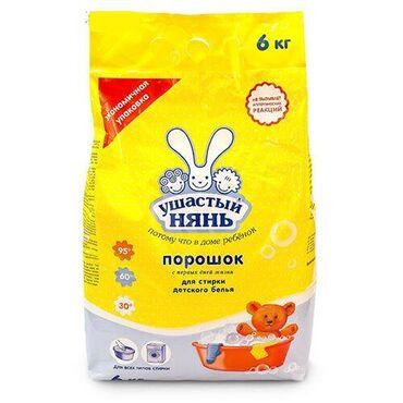 Ушастый нянь Стиральный порошок для детского белья, 6 кг
