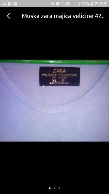 Farmerke-zara-dosta-se-tegle-broj - Srbija: Zara muska majica, broj 42