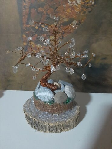 Citanje - Srbija: Jos jedno Drvo srece od poludragog kamenjaGorski kristal i Citrin za