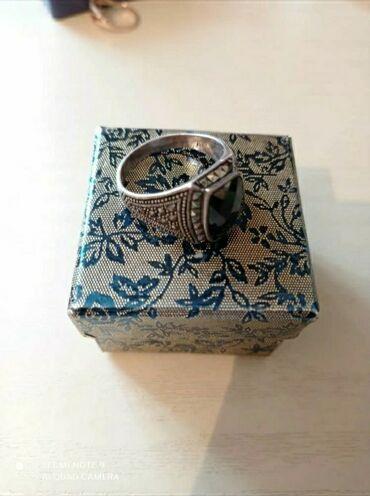 Бриллиант печатка - Кыргызстан: Мужская печатка серебро 925°  размер 19-20