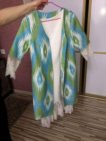 платье мама и дочь в Кыргызстан: Продаются платья шикарные Мама/дочка. Можно по-отдельности. белое