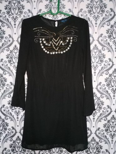 Чёрное красивое платье. Размер: в Бишкек