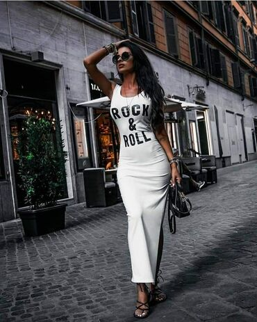 Haljina NOVO SA ETIKETOM!* Nova Kolekcija *Dostupne boje : crna