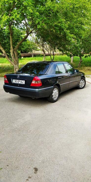 mersedes 709 - Azərbaycan: Mercedes-Benz C 180 1.8 l. 1997   238000 km
