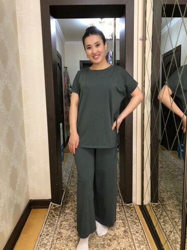 Женская одежда - Кыргызстан: Летние спортивные костюмы Код модели :141 Ткань :турецкий супрем 30 /1