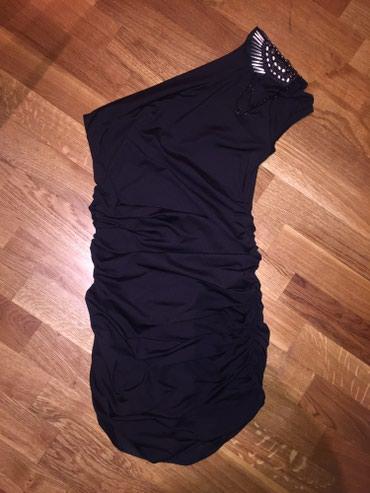 USKA Crna haljina na jedno rame, moze biti duza (kao na slici) a moze - Indija