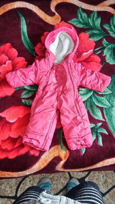 теплая зимняя кофта в Кыргызстан: Камбинизон на девочку. Зимний тёплый имеются в комплекте тёплые