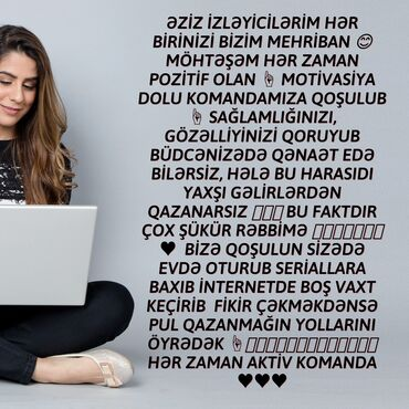 audi 80 18 s - Azərbaycan: Şəbəkə marketinqi məsləhətçisi. Oriflame. 18-29 yaş. Axşam saatlarında iş. Abşeron r-nu