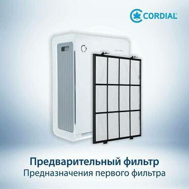 """Воздухоочистители в Кыргызстан: Очиститель воздуха """"Coway""""1 Предварительный фильтр. Он захватывает"""