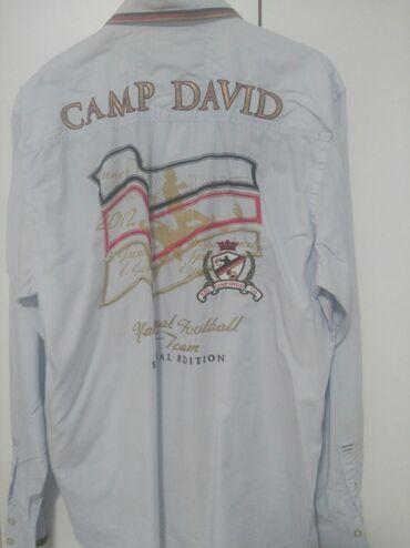 Camp david - Srbija: Muska kosulja xxl Camp David firmirana malo nosena neboplavna