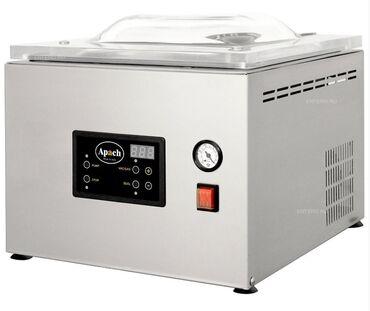 Новый вакуумный аппарат, Упаковщик вакуумный Apach AVM308 с опцией газ