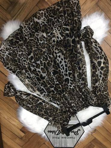 Leopard haljinica, kupljena u SoChic, placena 6990 din, nosena za - Sremska Mitrovica