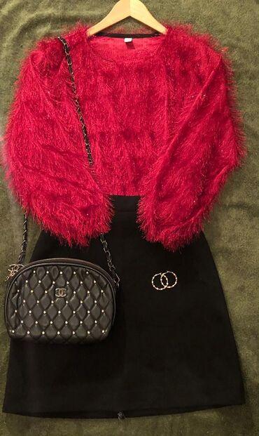 Женская одежда - Кок-Ой: Кофта размер m\L Юбка размер M\L