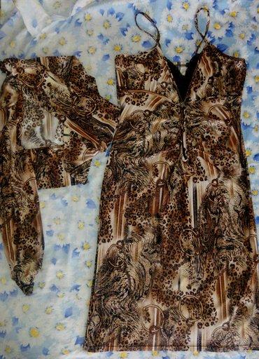 Платье с балеро, состояние нового, очень красиво смотрится, размер 42 в Бишкек