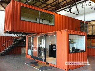 строительство-и-ремонт в Кыргызстан: Строим мобильные офисы из контейнера