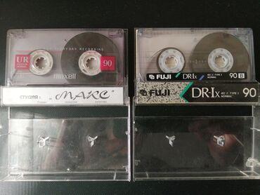 Аудиокассеты с записями. В наличие 20шт