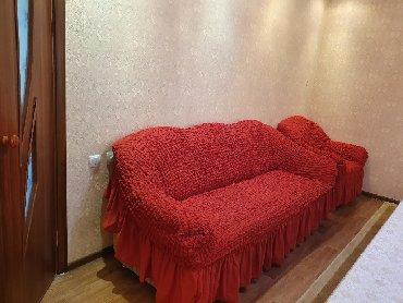 раскладной диван с двумя креслами в Кыргызстан: Продаю диван раскладной с двумя креслами (самовывоз)