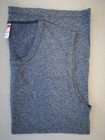 Men's T-shirts - Srbija: Muska majica bez rukava, siva, marka -con-ta-, velicina L, vrhunski