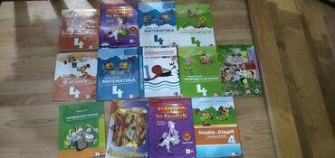 Komplet knjiga za 4 razred + CD.Izdavač: KlettU kompletu se nalaze
