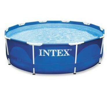 Каркасный бассейнОписаниеКаркасные бассейны Intex серии Metal frame