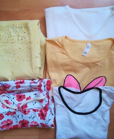 Ženska odeća | Vranje: Paket 5 kom letnjih sve za 1600 din vel L/XL, extra stanje---žuta