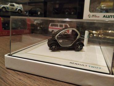 промо модель в Кыргызстан: МАСШТАБНАЯ МОДЕЛЬ автомобиля RENAULT TWIZY масштаб 1:43