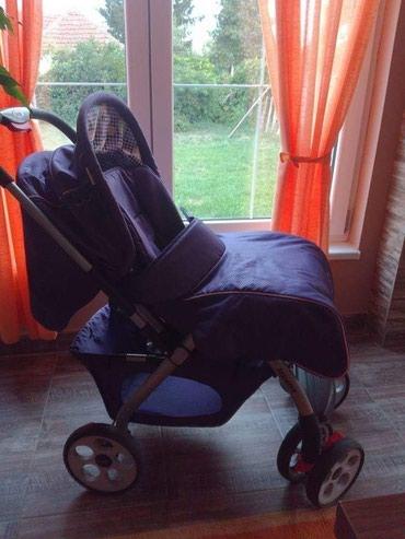 Kolica za bebe i decu | Kovacica: Decija kolica, malo koriscena, navlaka za zimu i najlon za kisu novi