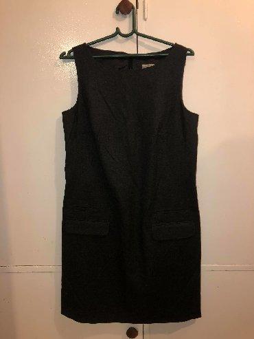 Haljine   Vrbas: Veronika Maine haljina tamno sive boje, potpuno nova!