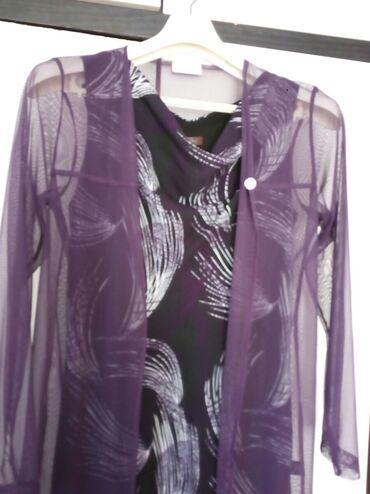 Haljine   Bogatic: Svecana haljina u kompletu sa tankim providnim ogrtacem L velicina