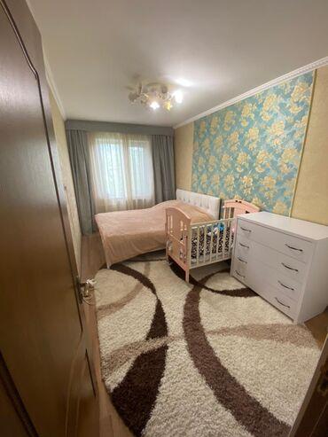 Долгосрочная аренда квартир - 3 комнаты - Бишкек: 3 комнаты, 58 кв. м С мебелью