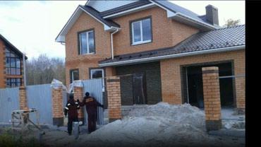 Фундамент Кладка Монолит Кровля крыши в Бишкек