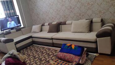 Продаю угловой диван в отличном состоянии, раскладывается
