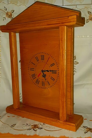 Torba sirina cm - Srbija: Drveni sat ručni rad 40 cm × 50 cm