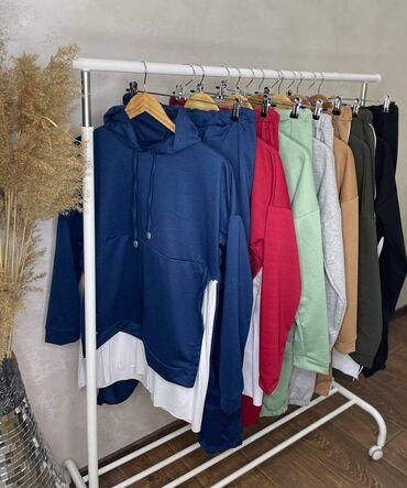 Ženska odeća - Sivac: Big size kompleti 1800 Pamuk elastin