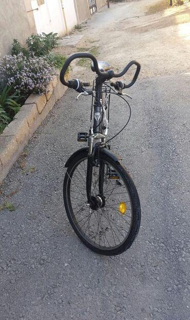 Orginal almaniya velosipedi aliminum rama hec bir problemi yoxdu her