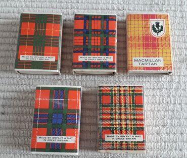 Τέχνη και Συλλογές - Ελλαδα: Vintage old Bryant & May MATCHBOX - The Souvenir Match 5 κουτάκια