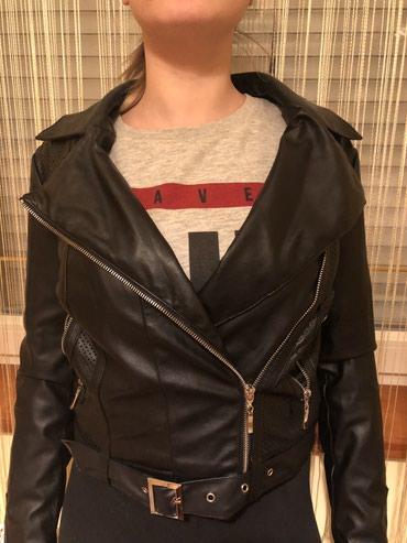 Prodajem koznu jaknu, S velicina - Backa Palanka