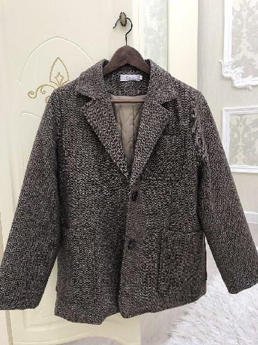 утепленное пальто в Кыргызстан: Очень качественное Оверсайз пальто-пиджак, в отличном состоянии