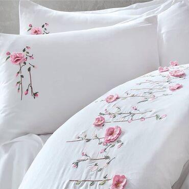 постельное принадлежности в Кыргызстан: Постельное бельё 100% хлопок, сатин. Качество высшее доставка