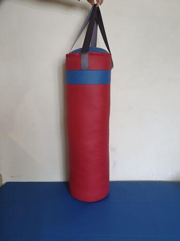 Спорт и хобби - Новопокровка: Боксёрский мешок. Боксёрская груша. Высота-110см. Диаметр круга-34см