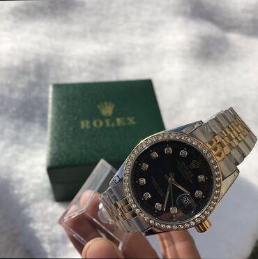chasy rolex mehanika в Кыргызстан: Золотистые Мужские Наручные часы Rolex
