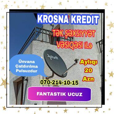 183 elan | PEYK ANTENALARININ QURAŞDIRILMASI: Krosna krosna❗ KREDIT ❗krosnu peyk antena kredit quraşdırılması