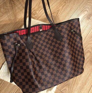 Сумка LV шоппер состояние 9/10 люкс качества  сумка луивиттон, сумка ш