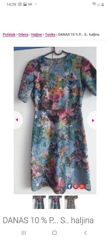 Ps haljina 34 Puniji materijal,nije letnji