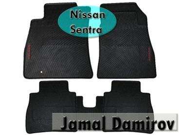 sentra - Azərbaycan: Nissan Sentra üçün silikon ayaqaltilar. Силиконовые коврики для Nissan