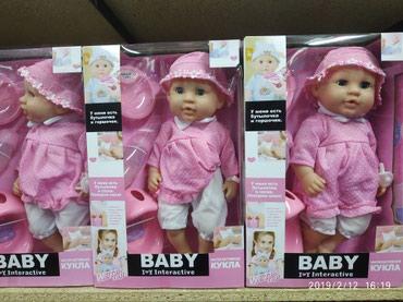 Кукла. Куклы. Детские куклы. Бейби интерактив. Доставка в цене. в Бишкек