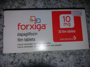 Medicinski proizvodi - Srbija: Forxiga za dijebeticara cena 1500din.novo
