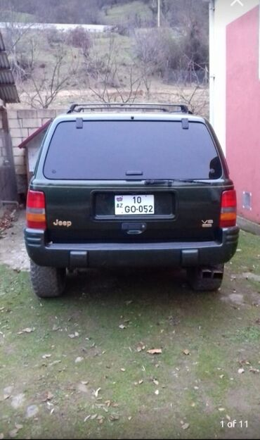 Jeep Grand Cherokee 2.5 л. 1997   183000 км