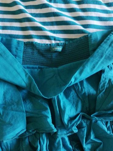 Kompleti tirkizni, suknja sa karnerima teranova s velicina ali - Sjenica