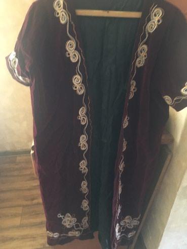 жилет национальный в Кыргызстан: Продаю новый женский национальный чапан размер 50